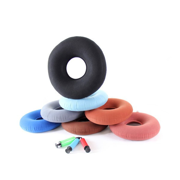 colorful Hemorrhoids sitting Cushion with air pump
