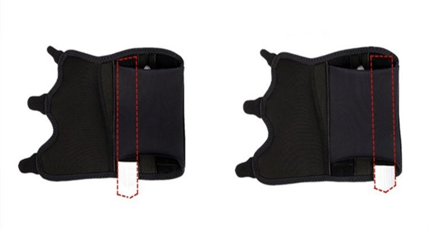 wrist support belts with splint