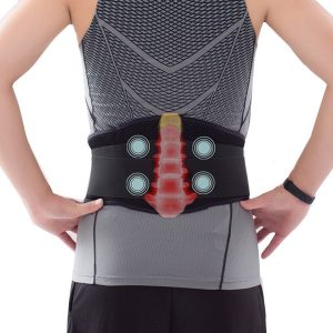 Lumbosacral back Support massager