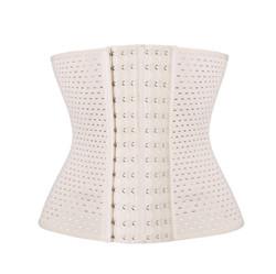 beige mesh breathable Slimming Body Shaper for women