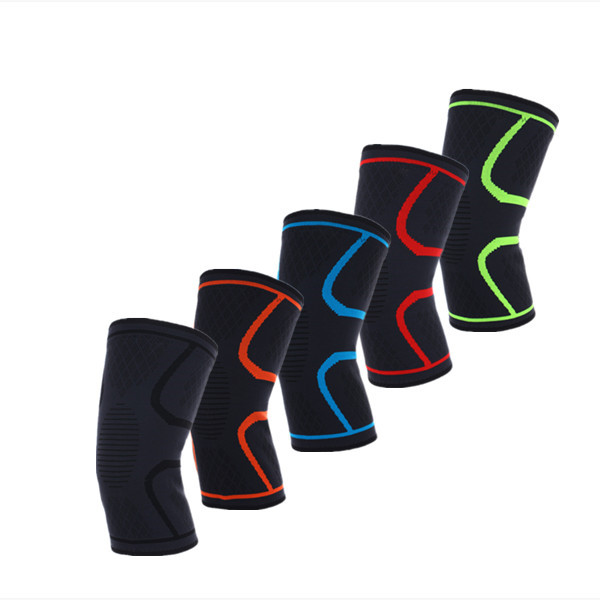 colorful free size Knee Support for Football