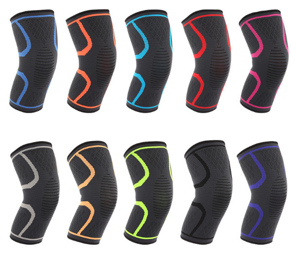 colorful elastic Knee Support for Football