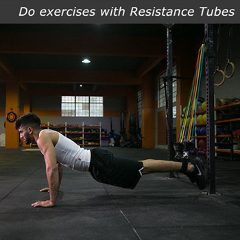 Home Fitness Resistance Bands